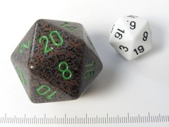 34 mm 20-zijdig, Speckled Earth