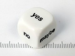 6-zijdig Yes/No/Maybe