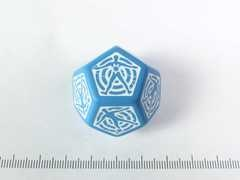 D12 Hit location Dice - Blauw