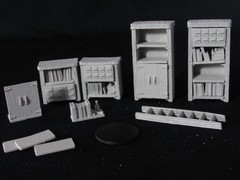 Deepcuts Miniatures - Archivist Library