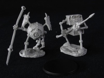Nolzur's Marvelous Miniatures - Monodrone and Duodrone