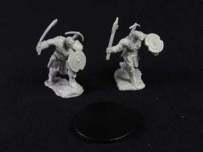 Nolzur's Marvelous Miniatures - Earth Genasi Male, Fighter