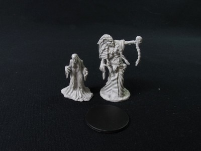 Nolzur's Marvelous Miniatures - Green Hag and Night Hag