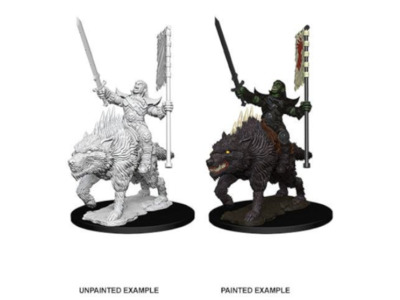 WizKids Deep Cuts - Orc on dire wolf
