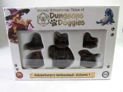 Animal Adventures: Tales of Dungeons and Doggies Volume 1