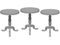 WizKids Deep Cuts - Small round tables
