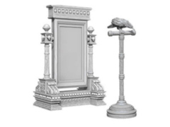 WizKids Deep Cuts Miniatures - Mirror & Bird on stand