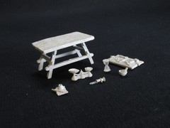 WizKids Deep Cuts Miniatures - Workbench and Tools