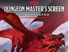 D&D Dungeon Master's Screen - Reincarnated