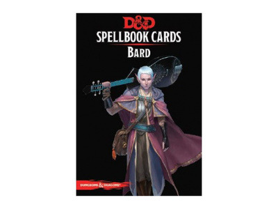 D&D Spellbook cards - Bard