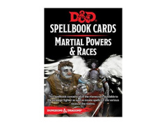 D&D Spellbook cards - Martial Powers & Races