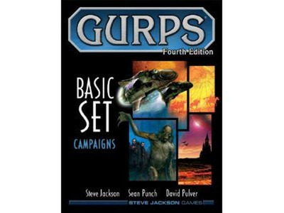 Gurps 4th Edition - Basic Set Campaigns