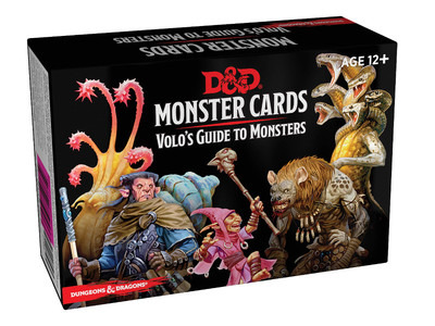 D&D  - Monster Cards, Volo's Guide to Monsters