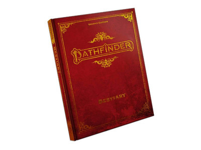 Pathfinder 2nd Edition - Bestiary - Special Edition