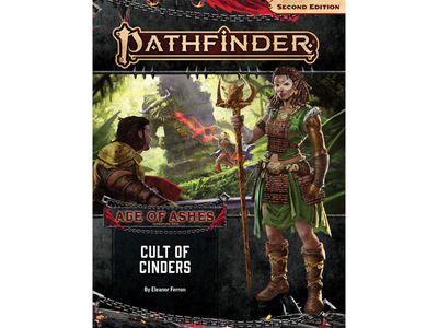Pathfinder 2nd Edition Adventure Path - Age of Ashes 2 of 6: Cult of Cinders