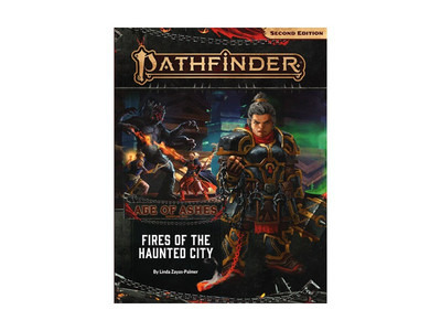 Pathfinder 2E: Age of Ashes 4 - Fires of the Haunted City