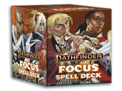 Pathfinder 2nd Edition - Spell Cards: Focus