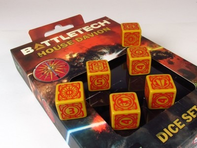BattleTech - House Davion Dice set