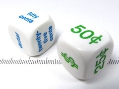 Dollar Dice set