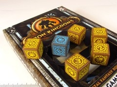 Iron Kingdoms Game Dice set