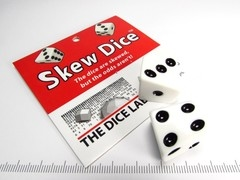 The Dice Lab Skew Dice 2D6 wit