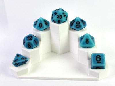 Ancient Ocean polydice set