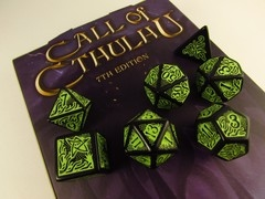 Call of Cthulhu, 7th edition polydice set
