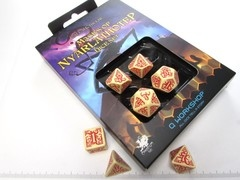 Call of Cthulhu: Masks of Nyarlathotep dice set