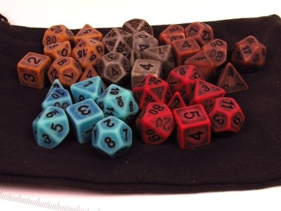 Dark Ancient polydice sets verzameling