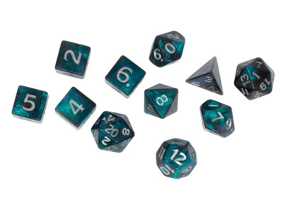 D&D Rime of the Frostmaiden - Dice & Miscellany