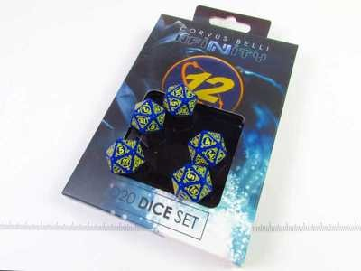 Corvus Belli: Infinity - 0 to 12 Faction D20 Dice set