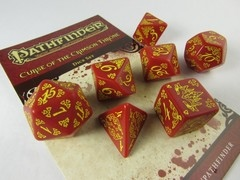 Pathfinder: Curse of the Crimson Throne polydice set