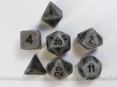 Polydice set Ancient Steel