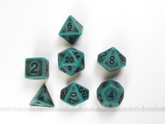 Polydice set Ancient Verdigris