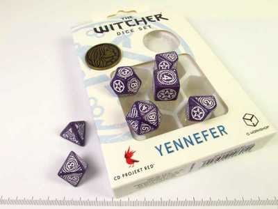 Witcher Polydice set - Yennefer, Lilac & Gooseberries