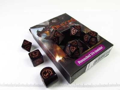 Dragons Modern - Black with Copper