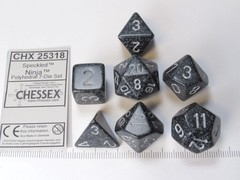 Set 7 polydice, Speckled Ninja