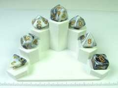 Transmuted Marble polydice set