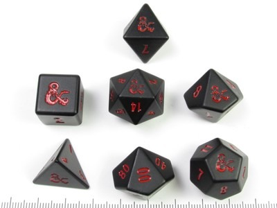 Ultra Pro - D&D official heavy metal RPG polydice set