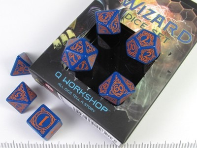 Wizard polydice set