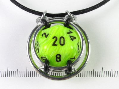 Liberty dice capture - Vortex Bright Green w/black