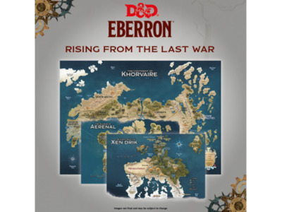 D&D - Eberron Map Set: Rising from the last War