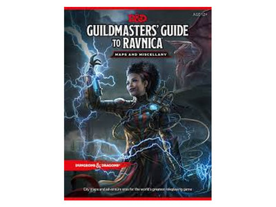D&D Guildmasters' Guide to Ravnica - Map Pack