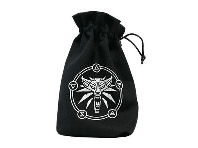 Witcher dice bag - Geralt, school of the wolf