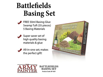 Army Painter - Battlefields Basing Set