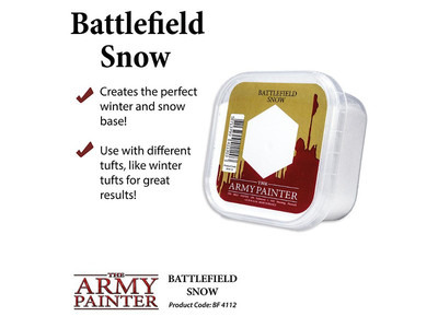Army Painter - Battlefield Snow