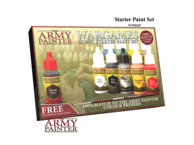 Army Painter - Wargames Hobby Starter Paintset