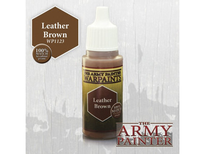Armypainter - los verfpotje, 18ml Leather Brown