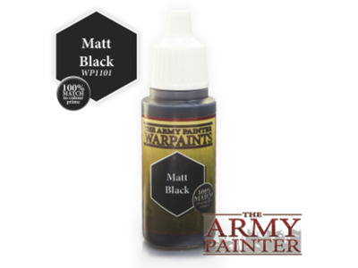 Armypainter - los verfpotje, 18ml Zwart