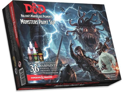 Nolzur's Marvelous Pigments - Monsters Paintset